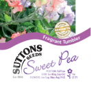 Sweet Pea Fragrant Tumbler