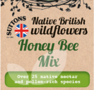 Native British Wildflowers Honey Bee Mix