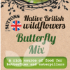 Native British Wildflowers Butterfly Mix
