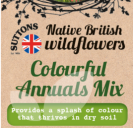 Native British Wildflowers Colourful Annuals Mix