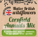 Native British Wildflowers Cornfield Annuals Mix