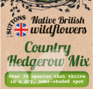Native British Wildflowers Country Hedgerow Mix