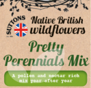 Native British Wildflowers Pretty Perennials Mix