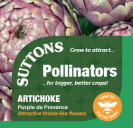 Artichoke Purple de Provence (Pollinators)