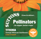 Tithonia Orange (Mexican Sunflower)