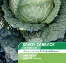 Cabbage Savoy F1 Serpentine