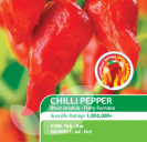 Chilli Pepper Bhut Jolokia Fiery Furnace