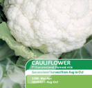 Cauliflower F1 Successional Harvest Mix