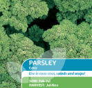 Parsley Envy