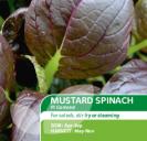 Spinach Mustard F1 Komatsuna Comred