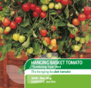 Tomato Hanging Basket Tumbling Tom Red