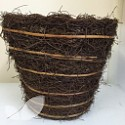 Wicker Round Plant Pot
